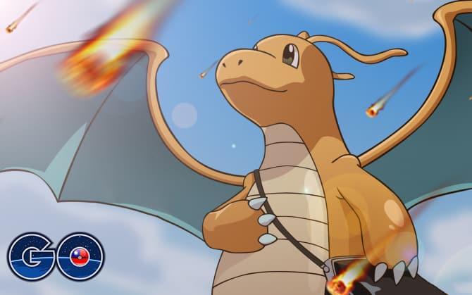 Pokemon GO 快龍新技能「流星群」VS「逆鱗」