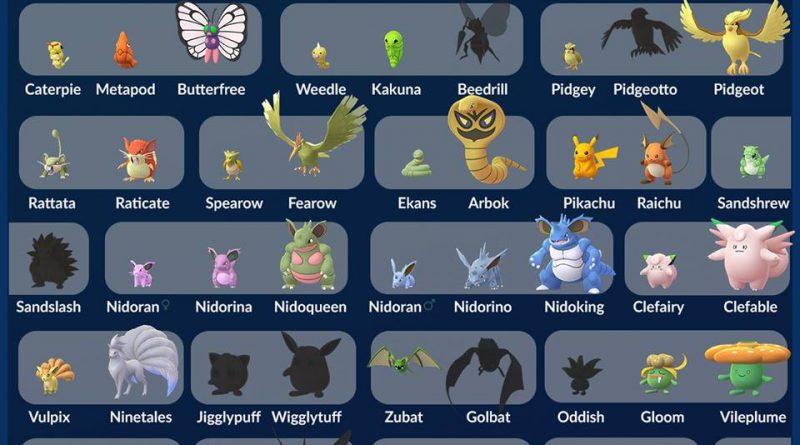 shiny pokemon Gen1