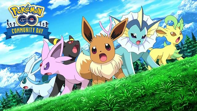 PokemonGO community day eevee