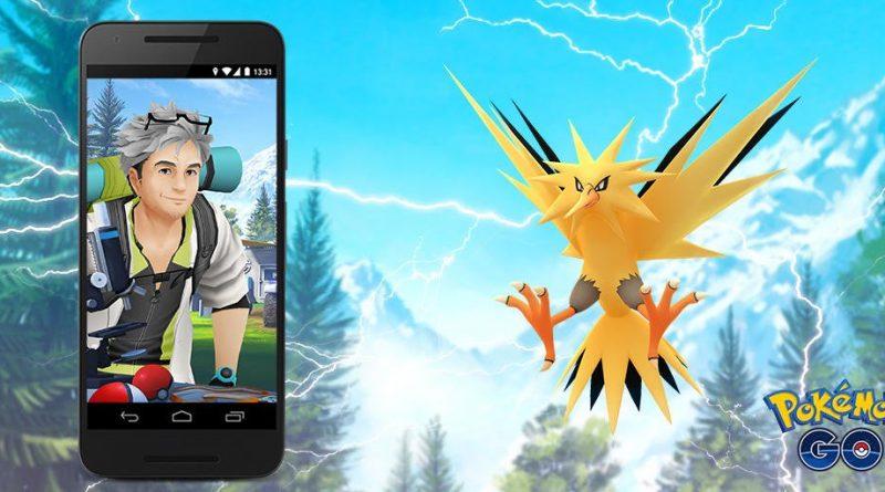 Pokemon GO閃電鳥日宣布:7月21日舉行/色違閃電鳥現身