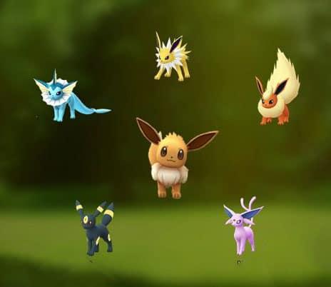 Pokemon GO 伊布改名進化