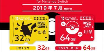 寶可夢官方授權推出Switch-專用micro-SD卡,預計7月上市!