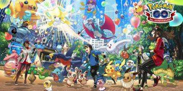 Pokemon GO 3周年寶可夢活動