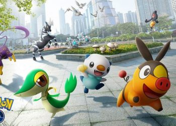 Pokemon GO 20隻新推出第5代寶可夢