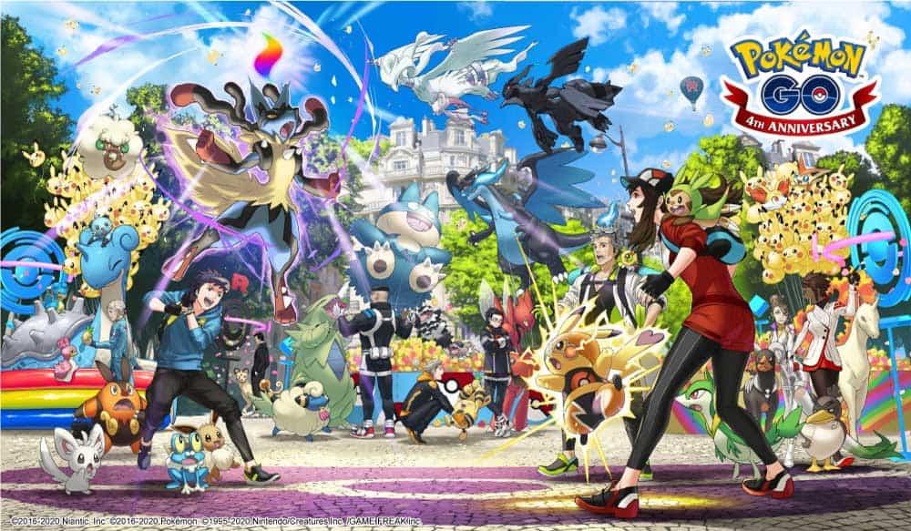 Pokémon-GO-4周年:新廣告、Mega-進化及第6代寶可夢流出-1