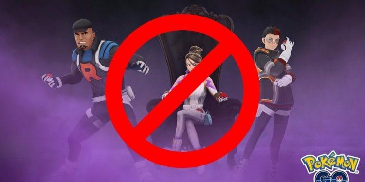 GO 火箭隊暫停在 Pokemon GO 中出現