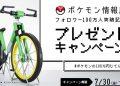 《精靈寶可夢-紅-綠》的100萬腳踏車1比1真實版-只送不賣